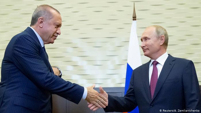 اتفاق روسي تركي على إقامة منطقة منزوعة السلاح في إدلب