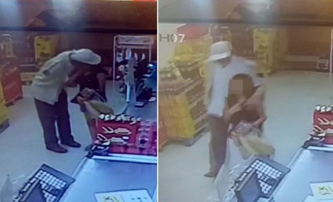 الشرطة التركية تعتقل رجل تحرش بطفلة في متجر بأنقرة| شاهد