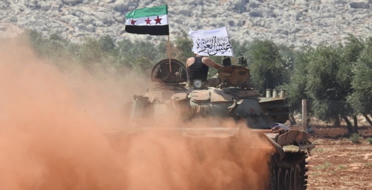 عاجل| آخر التطورات في ريف حماة الشمالي