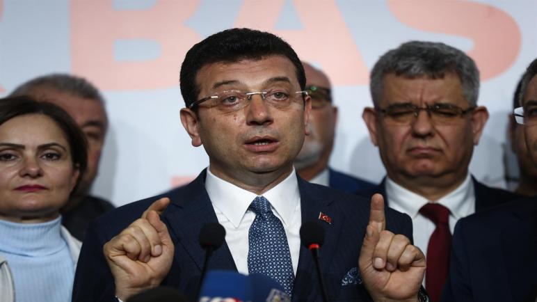 هام: تصريح من أكرم إمام أوغلو حول السوريين والفلسطينين في إسطنبول
