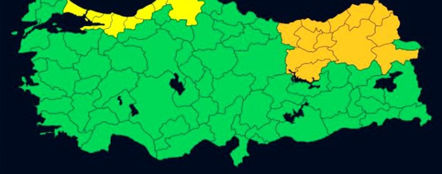 تحذير هام اسطنبول صنفت ضمن الإنذار الأصفر