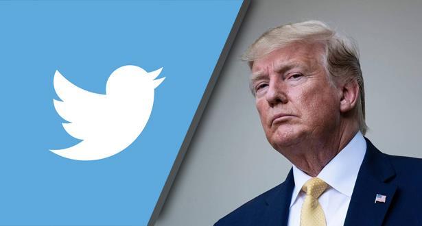 تويتر | تضع اشارة تحذيرية على تغريدة لترامب