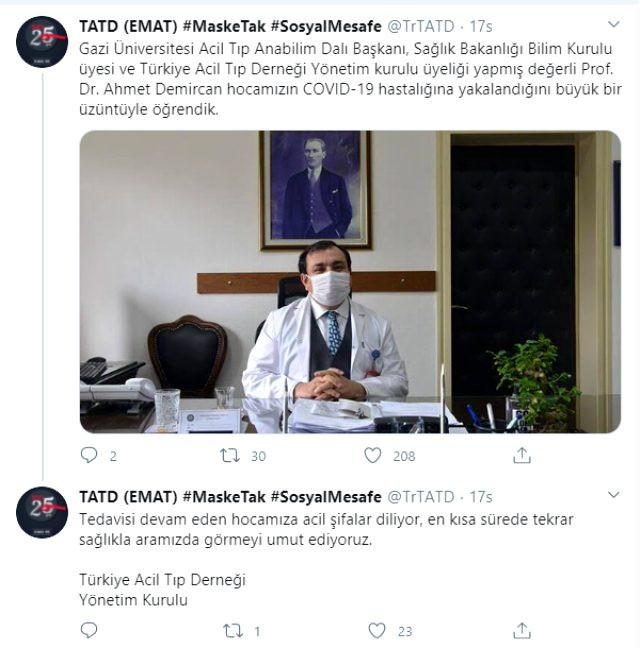 فايروس كورونا يصيب مسؤولا تركياً بارزاً