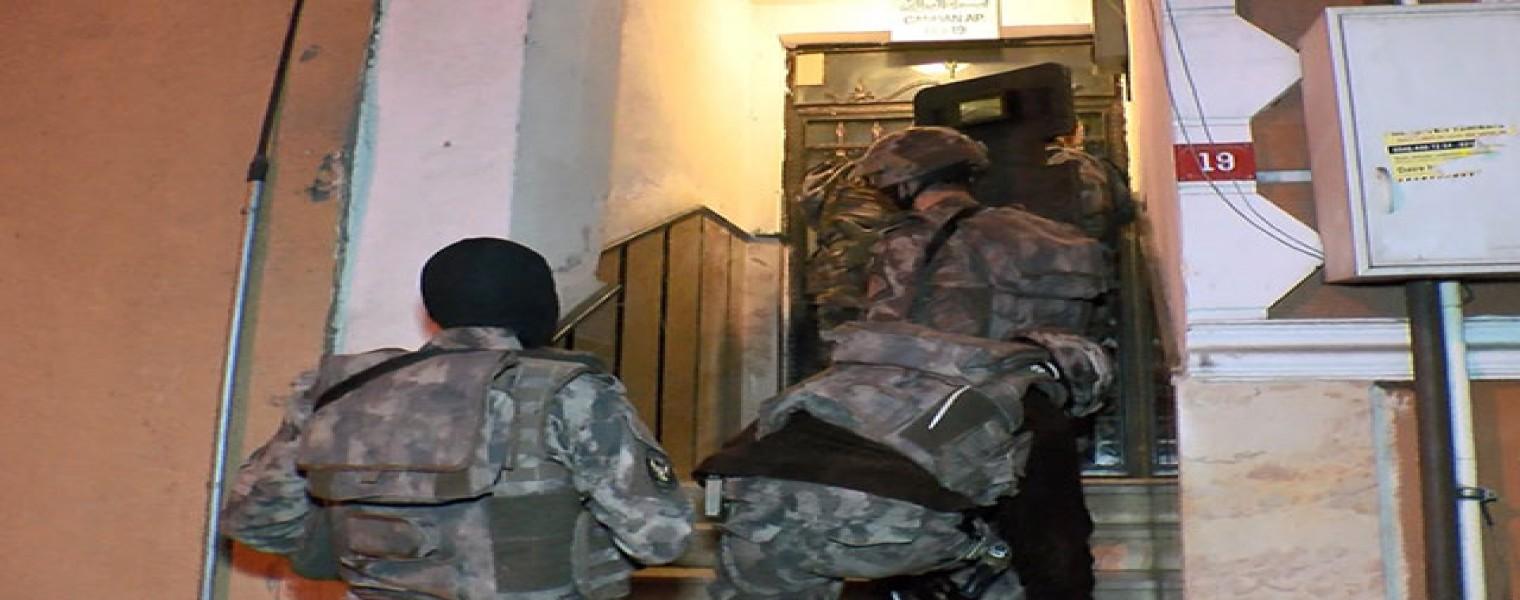 اعتقال 65 شخصاً في اسطنبول .. اليكم التفاصيل