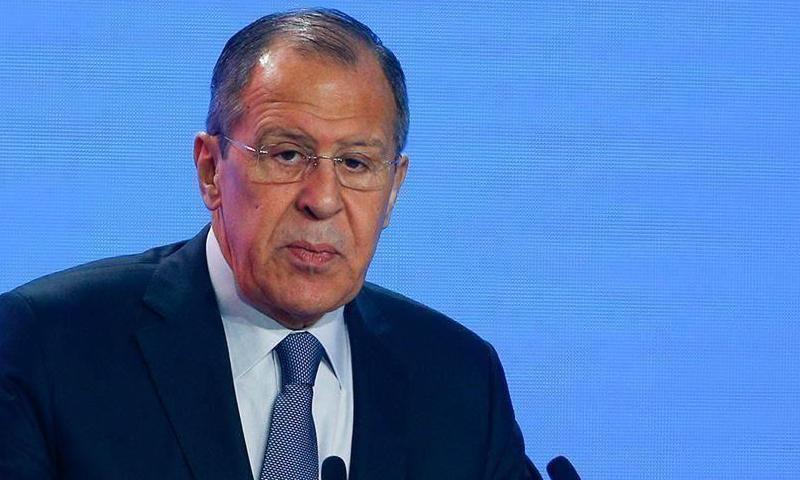 """لافروف : المواجهة العسكرية بين النظام السوري والمعارضة قد """"انتهت"""""""