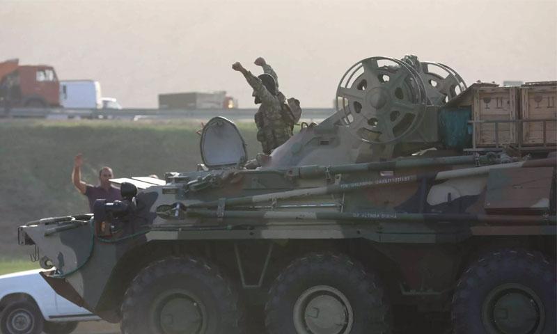 الأحداث تتسارع .. أرمينيا تتهم تركيا بدخول الحرب الى جانب أذربيجان