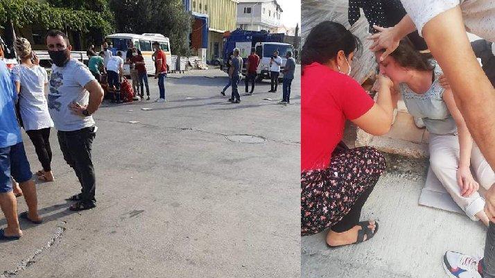 تسريب غاز في مرسين يتسبب بتسمم 20 عاملاً