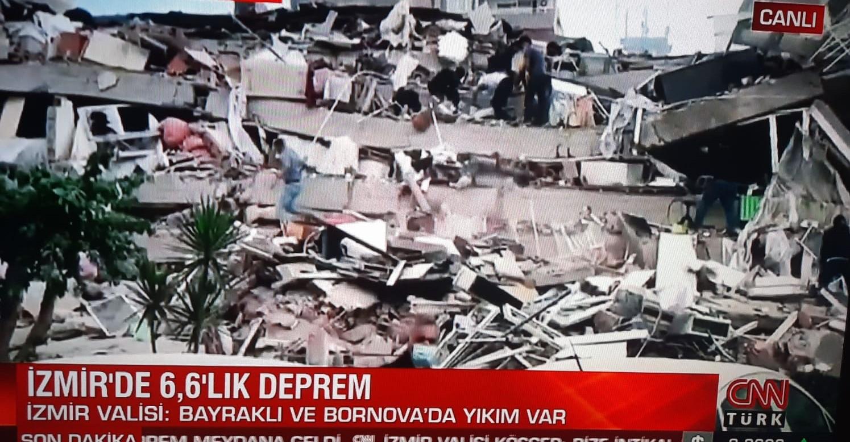 عاجل| اخر تطورات زلزال ازمير وتحذيرات تركية