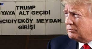 بلدية إسطنبول تزيل اسم الرئيس الأمريكي من نفق للمشاة
