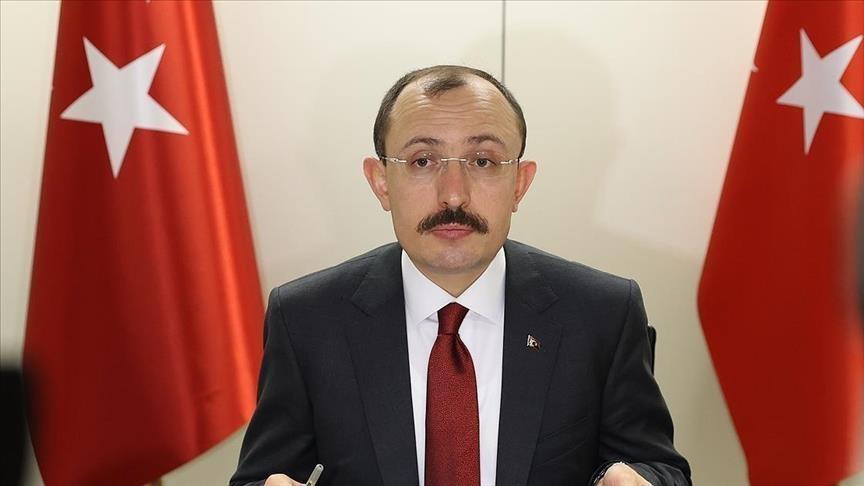وزير التجارة التركي يعلن عن بيان له .. اليكم التفاصيل
