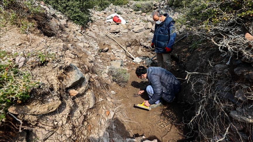 عثر علماء اتراك على اكتشافات رائعة خلال عمليات التنقيب التي اجريت في ازمير