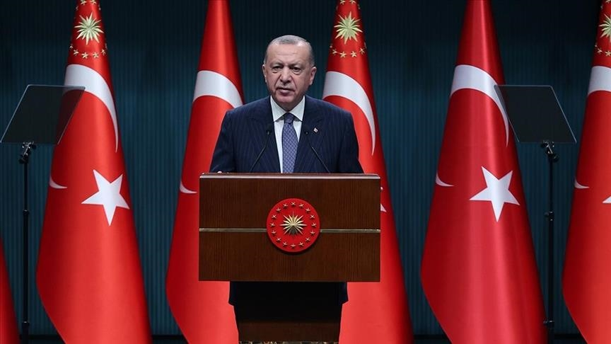 تصريحات أردوغان  عقب انتهاء إجتماع جلسة لمجلس الوزراء التركي.