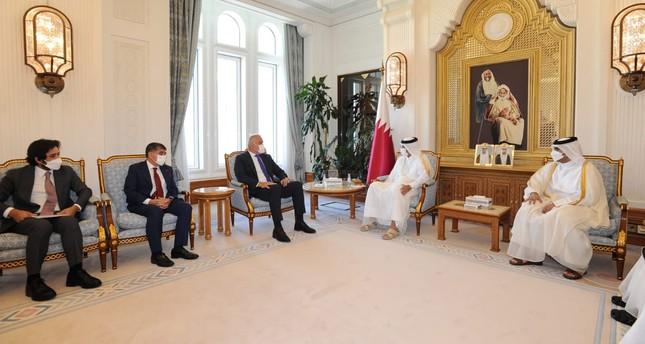 بحث وزير الخارجية القطري ووزير السياحة التركي التعاون الثنائي
