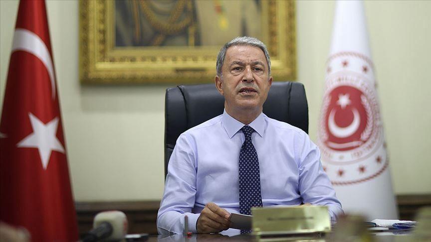 رسالة حادة وصارمة من وزير الدفاع التركي من لأرمينيا