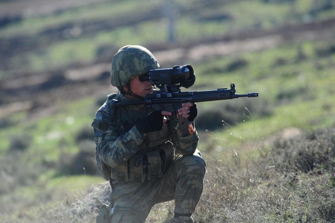 منع الكوماندوز التركي هجومًا على منطقة نبع السلام