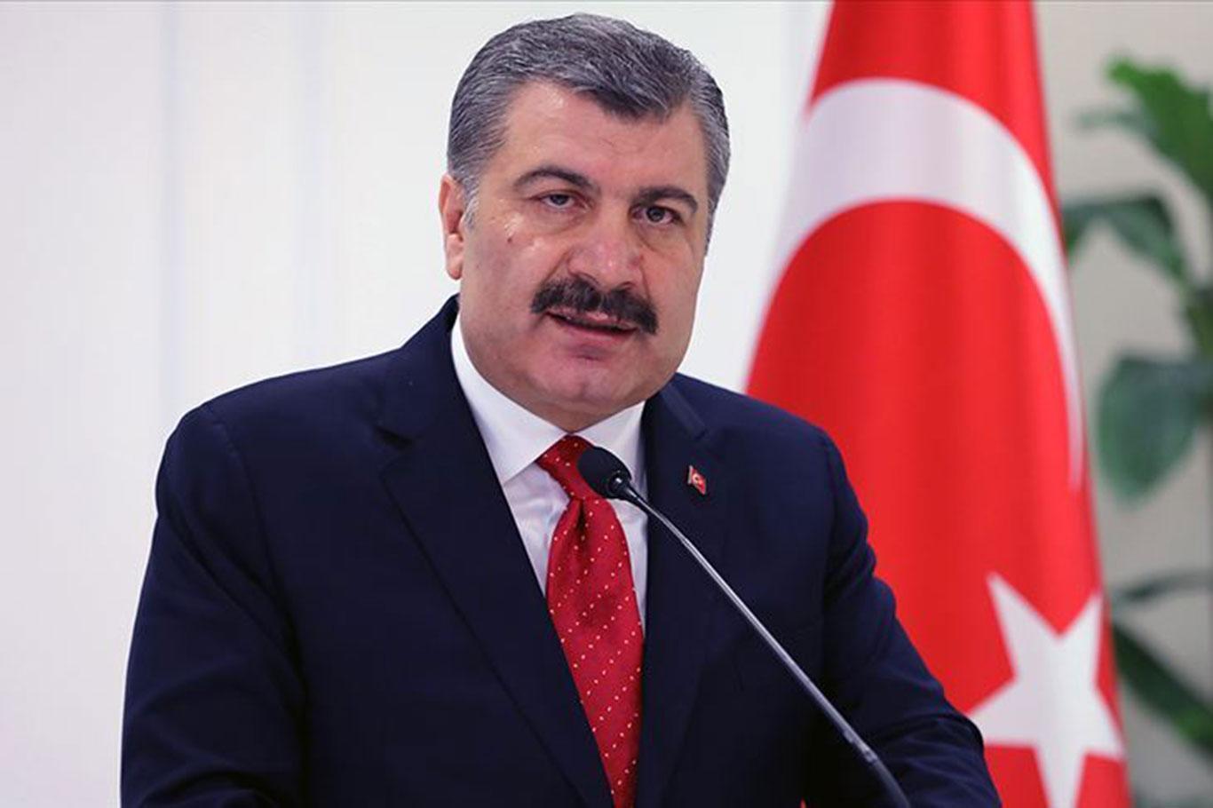 عاجل| وزير الصحة التركي يعلن عن الإصابات الجديدة بفايروس كورونا 1 ابريل 2020