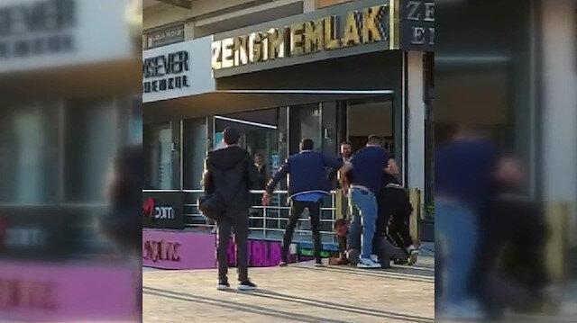 تعرض رجل تركي هاجم زوجته في اسطنبول للضرب المبرح وسط الشارع...فيديو