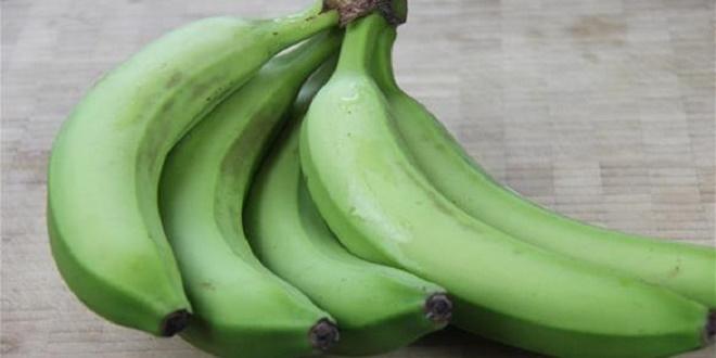 احرص على تناول الموز الاخضر يومياً