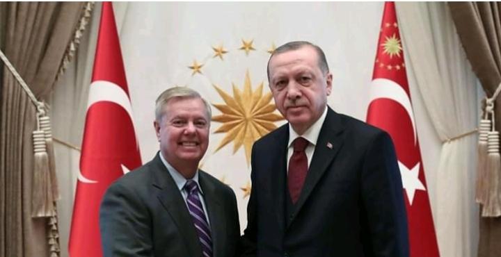 هام | أردوغان يلتقي مع ليندسي غراهام .. تابع التفاصيل!!