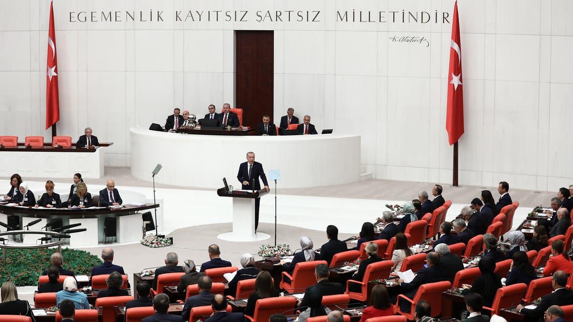 البرلمان التركي يناقش تفويض بإرسال قوات إلى سوريا والعراق ولبنان